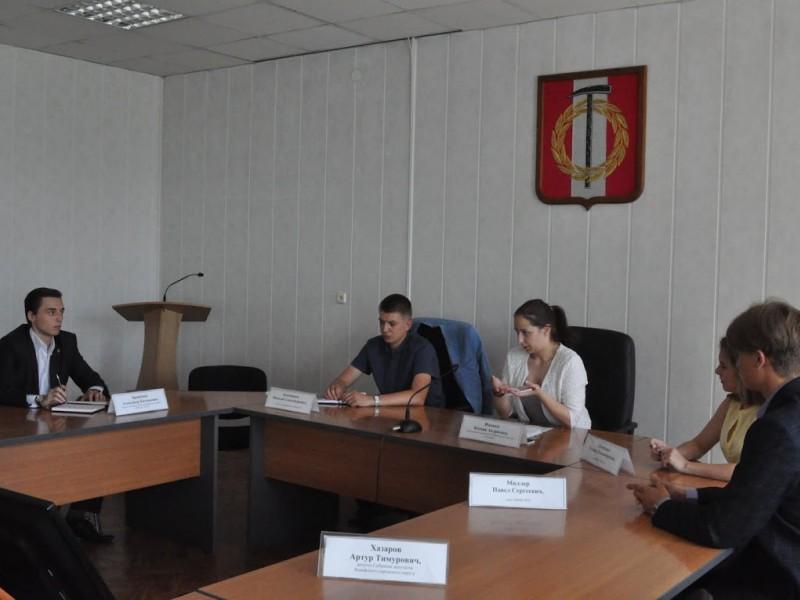 В Копейске начала работать Молодёжная избирательная комиссия