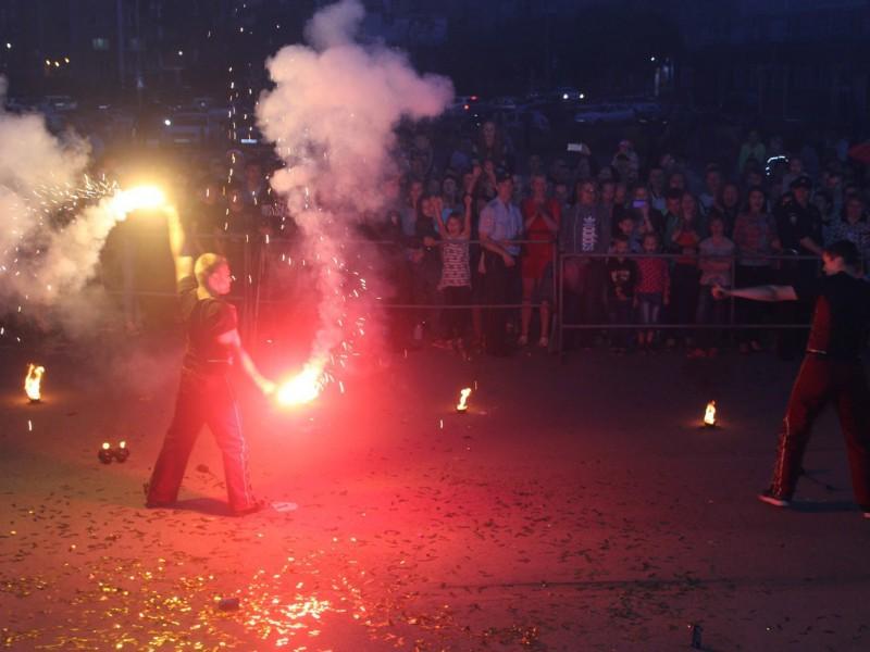Вместо рядового праздника в Копейске получилось яркое шоу
