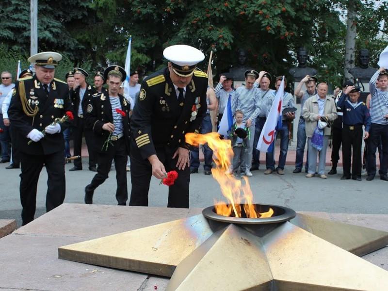 В Копейске отметили День военно-морского флота