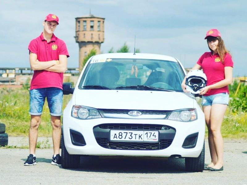 Копейчанка одержала победу в этапе областного чемпионата по автоспринту