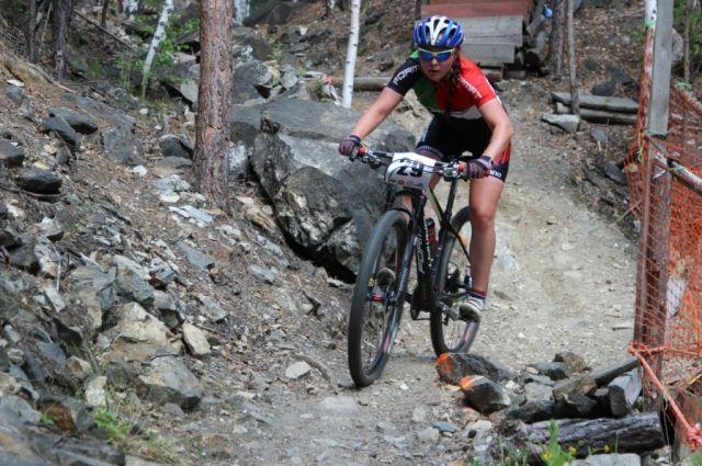 Велогонщица из Копейска стала второй на чемпионате России